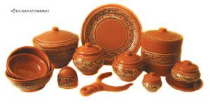 посуда из керамики российского производства